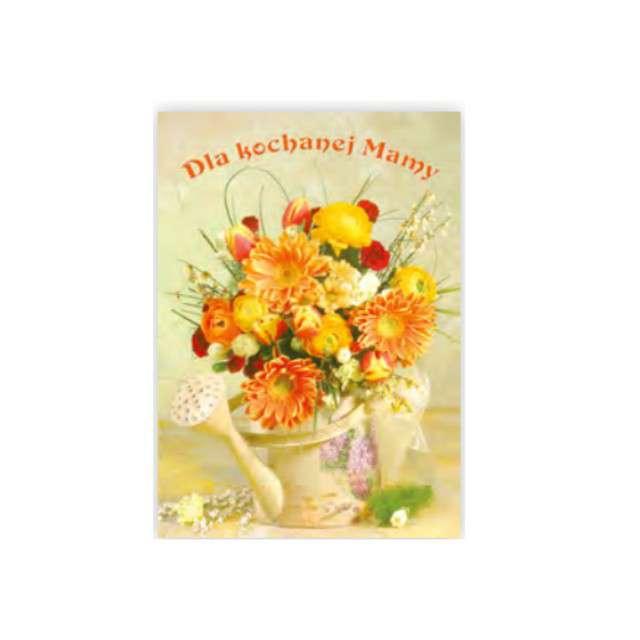 Kartka z pozytywką Dzień Matki - Dla Kochanej Mamy Pol-Maki 14x20 cm