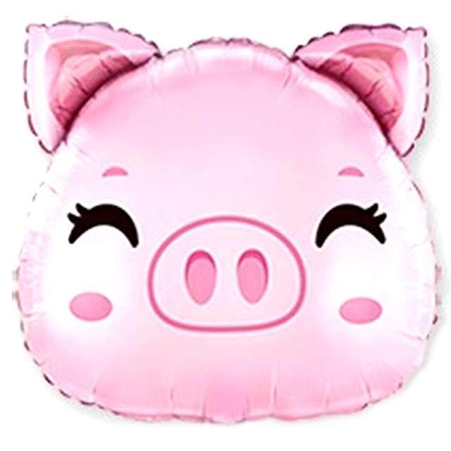 Balon foliowy Świnka różowa Flexmetal 10 SHP