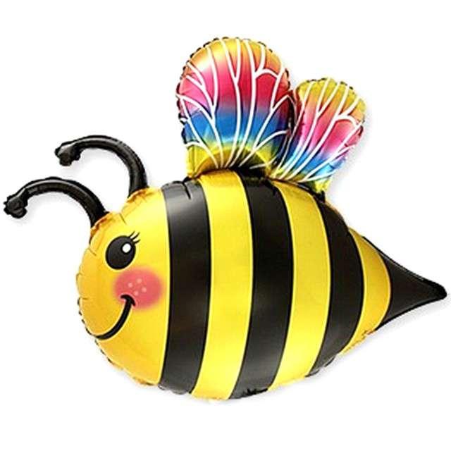 """Balon foliowy """"Pszczółka Maja"""", w paski, Flexmetal, 14"""", SHP"""