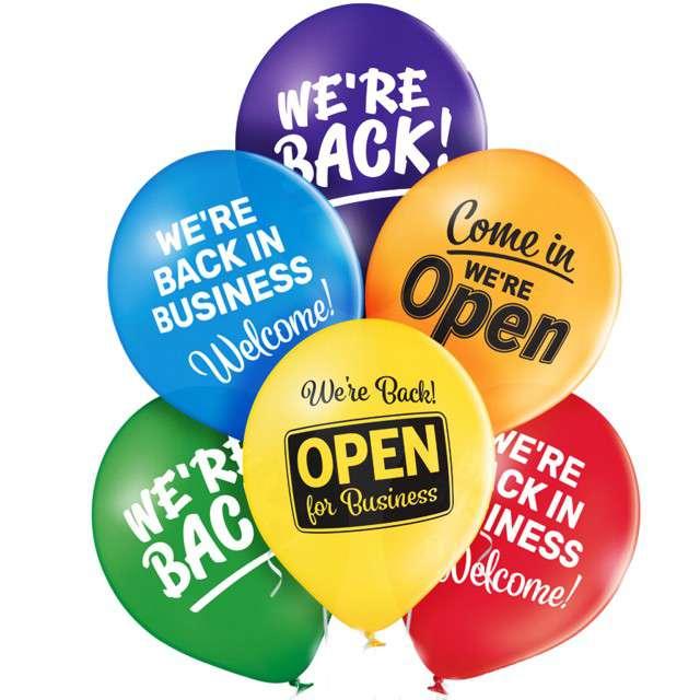 Balon Wróciliśmy - We Are Back! mix BELBAL 12 50 szt
