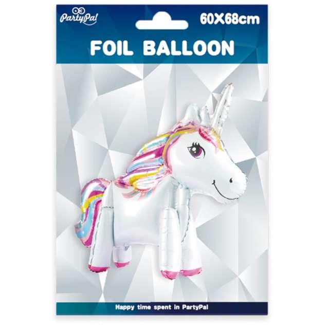 Balon foliowy Jednorożec stojący PartyPal 27 SHP