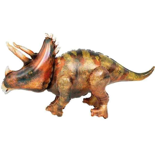 "Balon foliowy 3D ""Triceratops Prehistoryczny"", PartyPal, 46"" SHP"