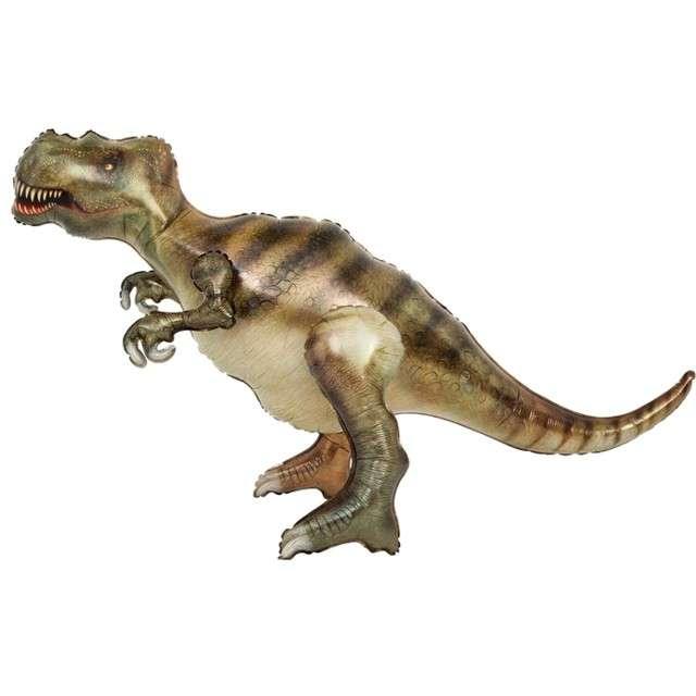 "Balon foliowy 3D ""Tyranozaur Prehistoryczny"", PartyPal, 47"" SHP"