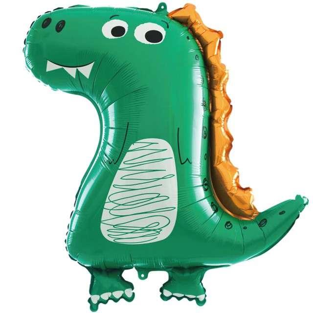Balon foliowy Dinozaur - zielony smok PartyPal 29 SHP