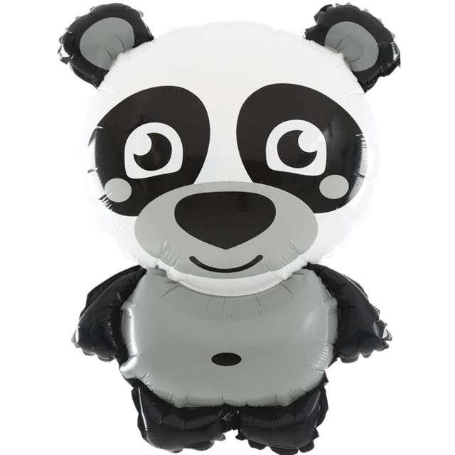 """Balon foliowy """"Stojąca Panda z ZOO"""", PartyPal, 25"""" SHP"""