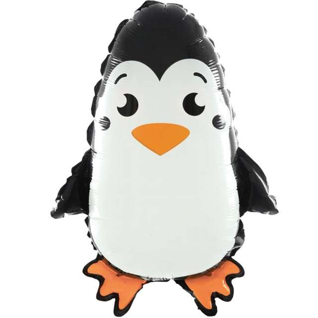 Balon foliowy Stojący Pingwin PartyPal 25 SHP