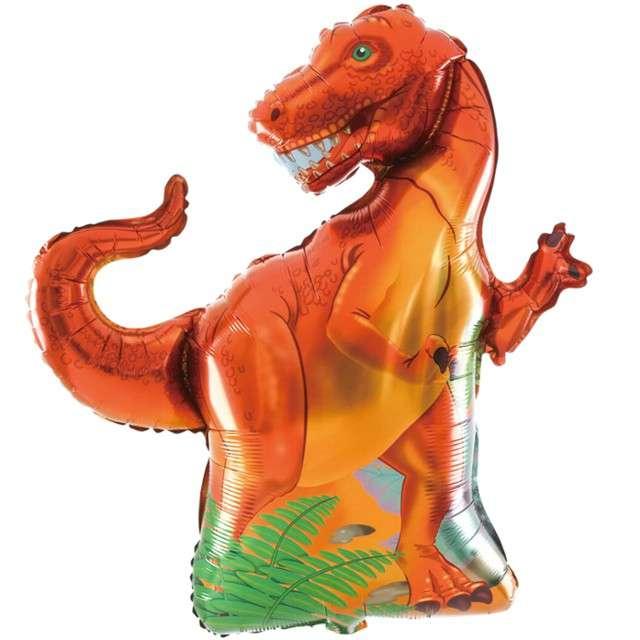 "Balon foliowy ""Dinozaur Prehistoryczny"", PartyPal, 35"" SHP"
