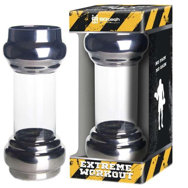 Szklanka Sztanga czarna BGtech 800 ml