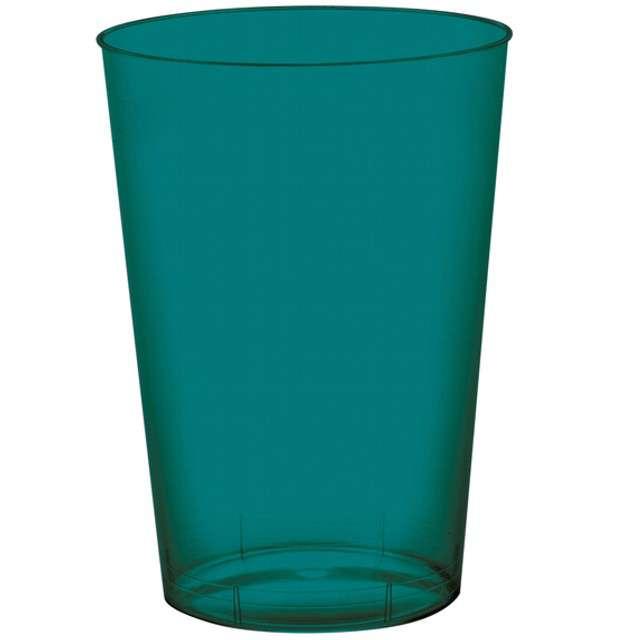 "Kubeczki plastikowe ""Premium"", zielone, Santex, 10 szt"