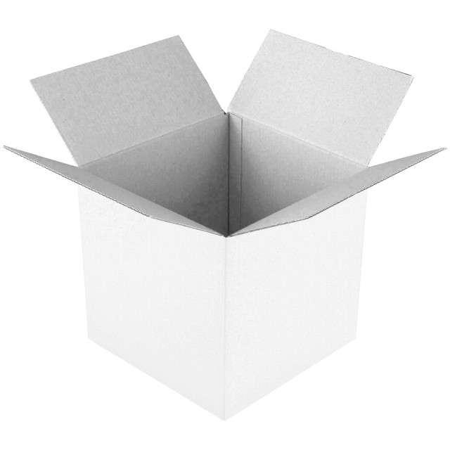Pudełko na balony Suprise -  prezent białe Godan 65 cm