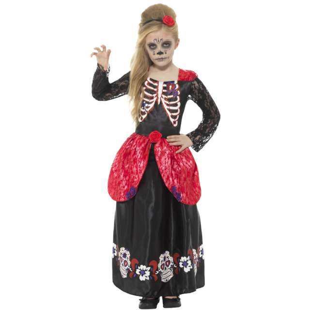 _xx_Deluxe Day of the Dead Girl Costume L