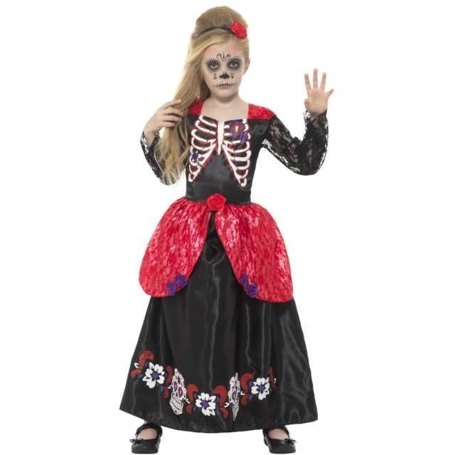 _xx_Deluxe Day of the Dead Girl Costume S