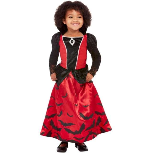 _xx_Toddler Vampire Costume Red & Black T1