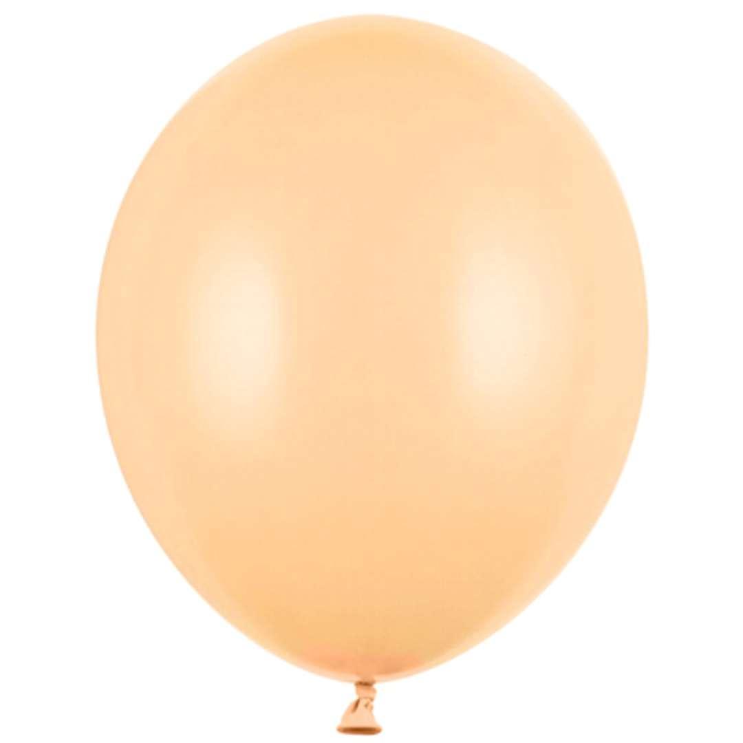 """Balony """"Pastel"""", brzoskwiniowe jasne, 12"""" STRONG,  10 szt"""