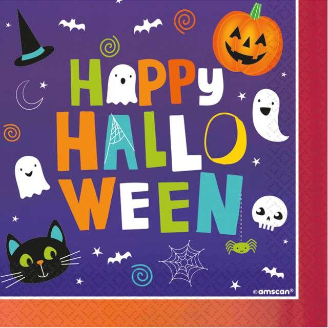 _xx_16 serwetek Halloween Friends 33 x 33 cm