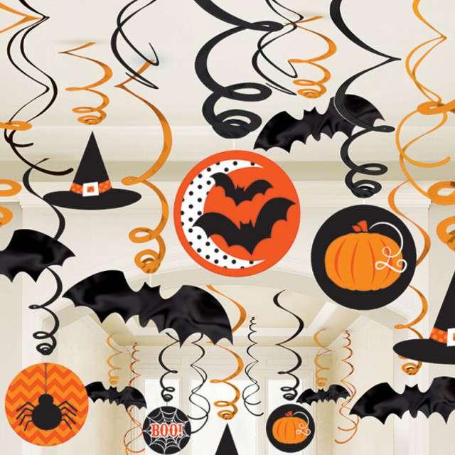 _xx_30 Swirl Halloween Nietoperze Folia/papier 61