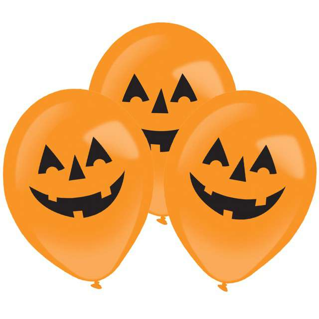 _xx_4 balony lateksowe Clear LED Pumpkin 275x11