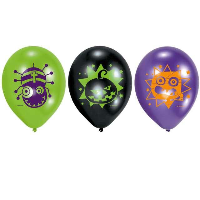 _xx_6 balonów lateksowych Halloween Kids 228x9