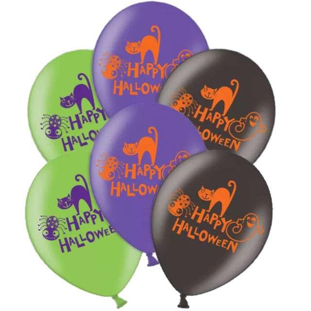 _xx_6 lateksowych balonów Happy Halloween 275/11