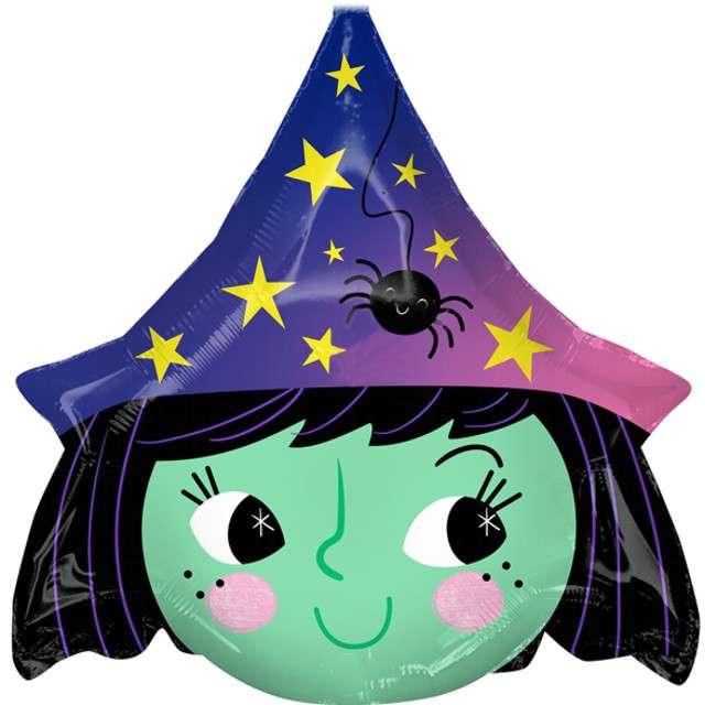 _xx_Balon foliowy Halloween Witch 48x48