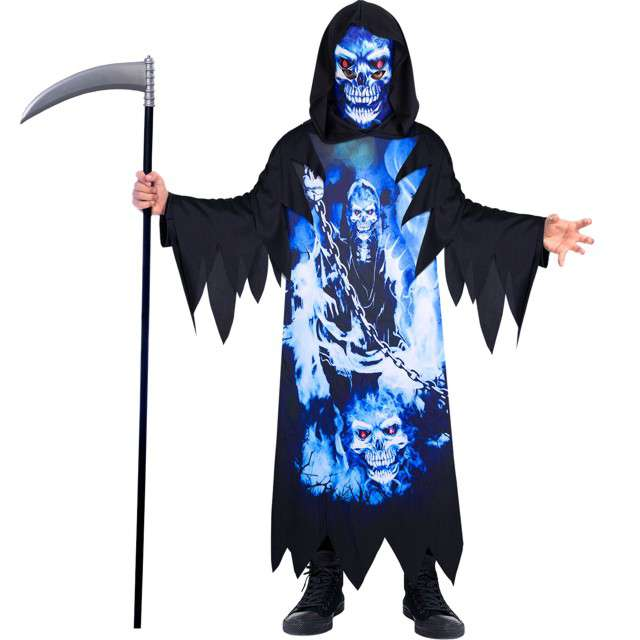 _xx_Child Costume Neon Reaper Recyc 6-8