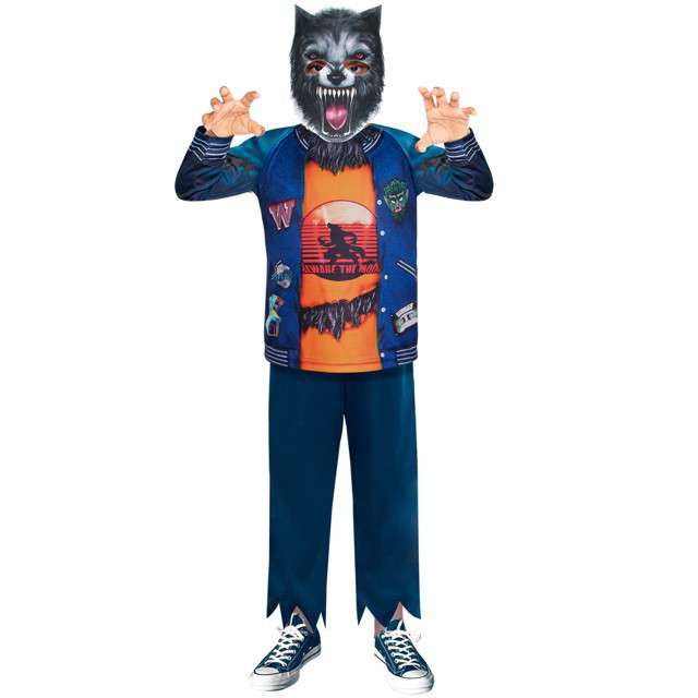 _xx_Child Costume Werewolf Recyc 3-4