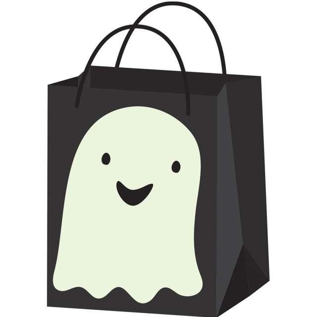 _xx_Cukierkowa torba papierowa Ghost Hallo-ween F