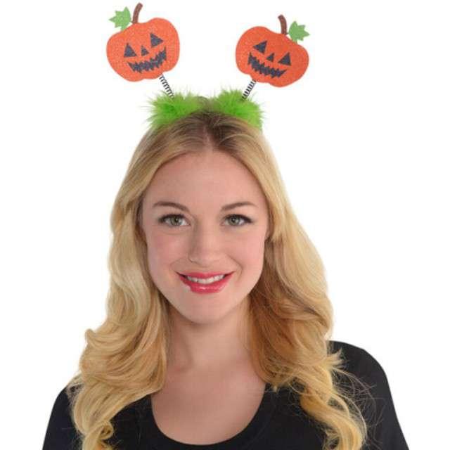 Opaska party Halloweenowe Dynie pomarańczowa AMSCAN
