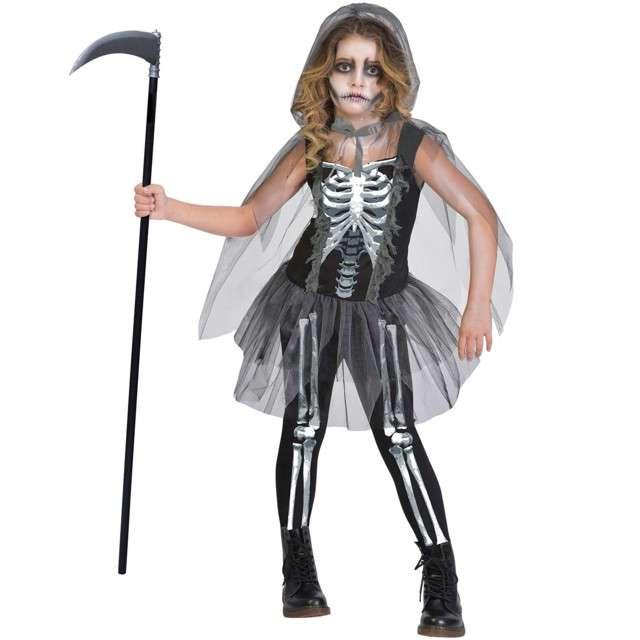 _xx_Teen Costume Skeleton Reaper Age 12 - 14