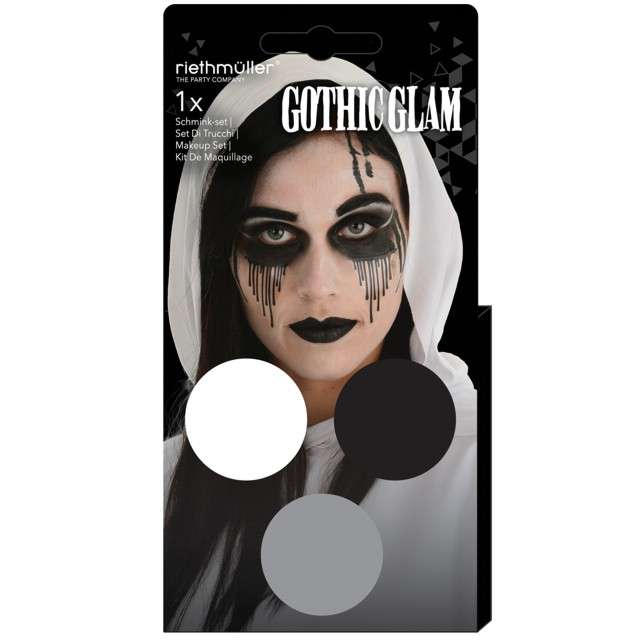 _xx_Zestaw Aqua Gothic Glam (3 x 35 g)