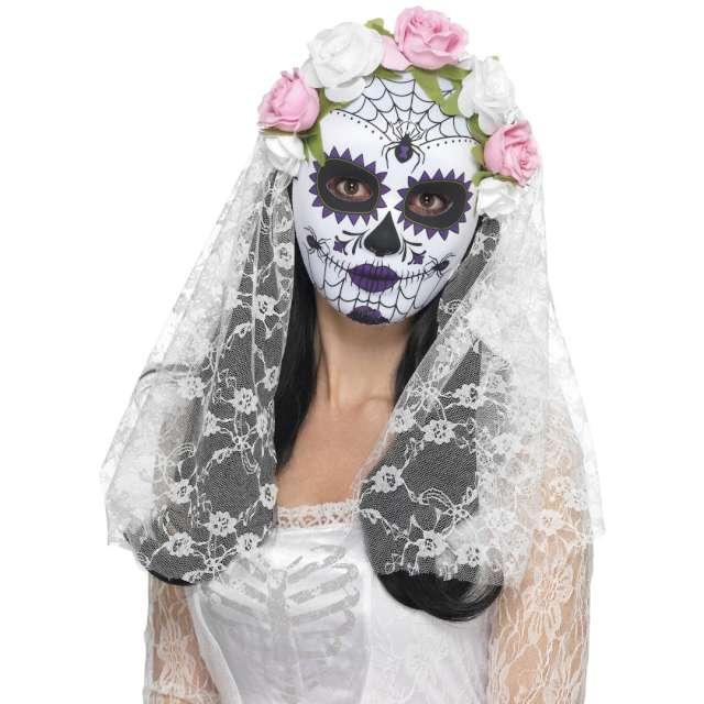_xx_Day of the Dead Bride Mask Full Purple
