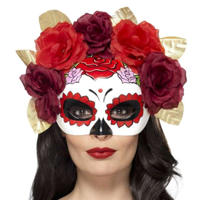 _xx_Day of the Dead Rose Eyemask