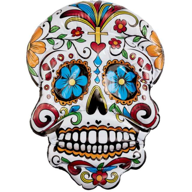 _xx_Inflatable Day of the Dead Hanging Skull