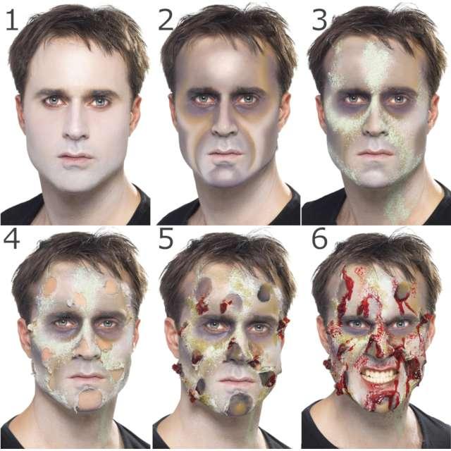 _xx_Smiffys Make-Up FX Complete Zombie Kit