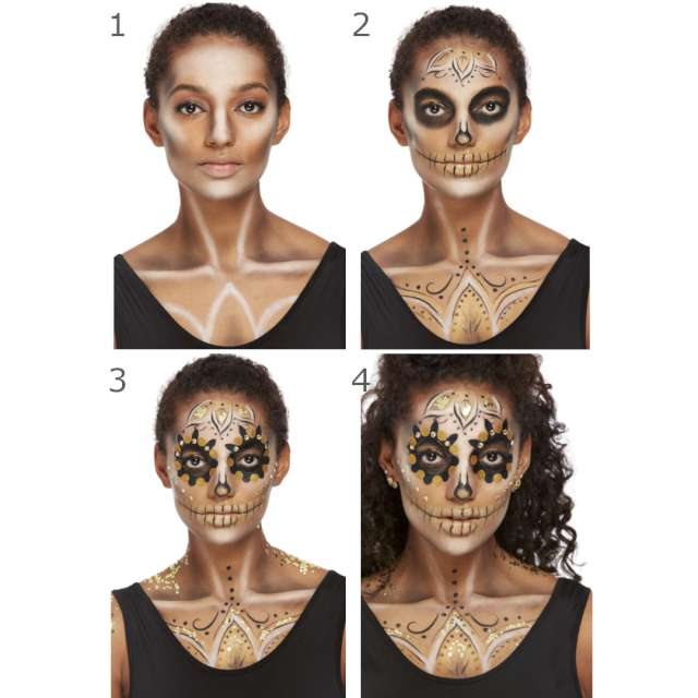 _xx_Smiffys Make-Up FX Gold DOTD Kit