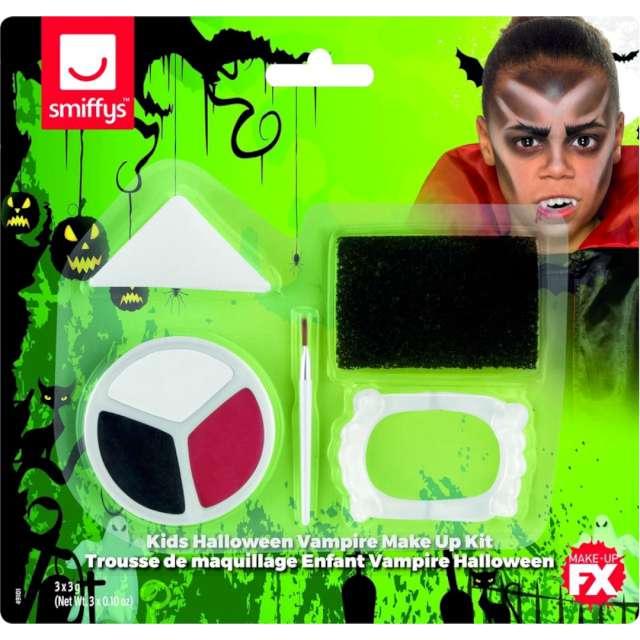 Make-up party Halloween - Młody Wampir SMIFFYS zestaw