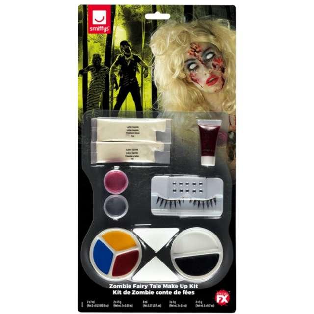 Make-up party Halloween - Lady Zombie SMIFFYS zestaw