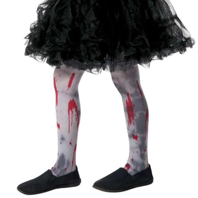 _xx_Zombie Dirt Tights Child Grey Age 6-12