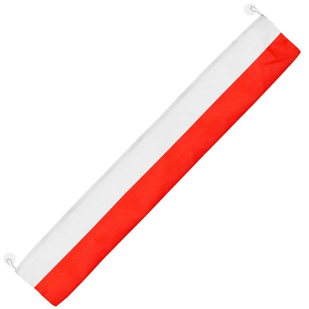"""Flaga z przyssawkami """"Polska"""", 90x15 cm, Arpex"""