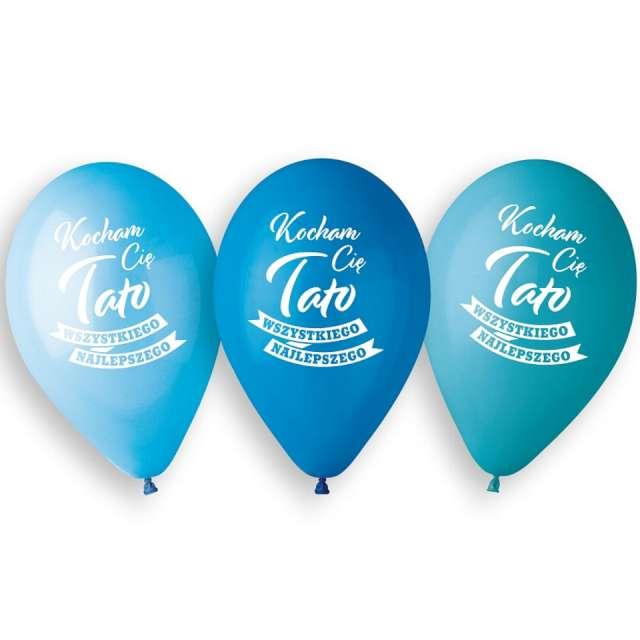 Balony Kocham Cię Tato mix Gemar 13 5 szt
