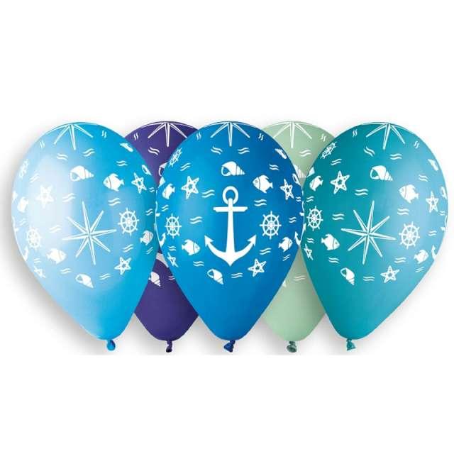 Balony Podwodny świat mix Gemar 13 5szt