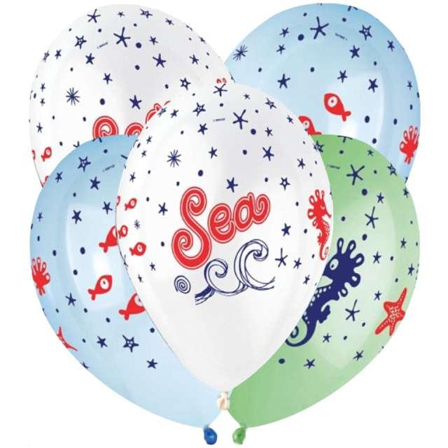 Balony Podmorski świat kolorowe Gemar 13 5 szt