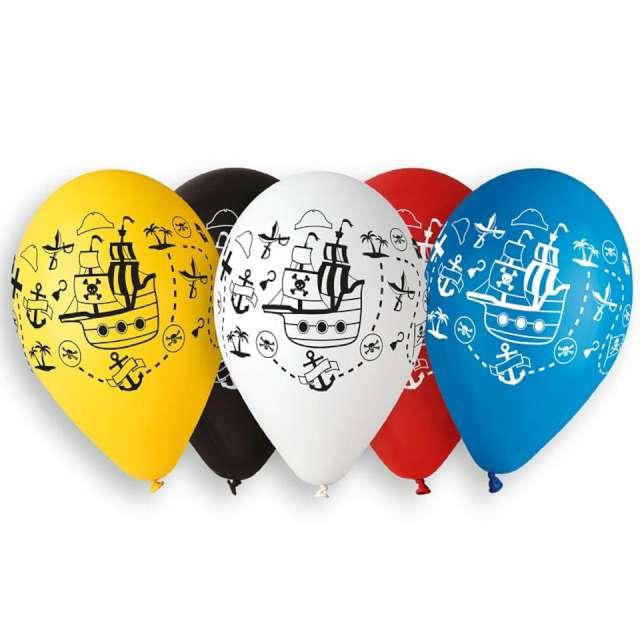 Balony Statki mix Gemar 13 5 szt