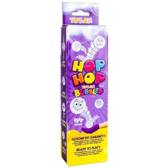 Zestaw do baniek mydlanych Hop-Hop - podbijak TUBAN