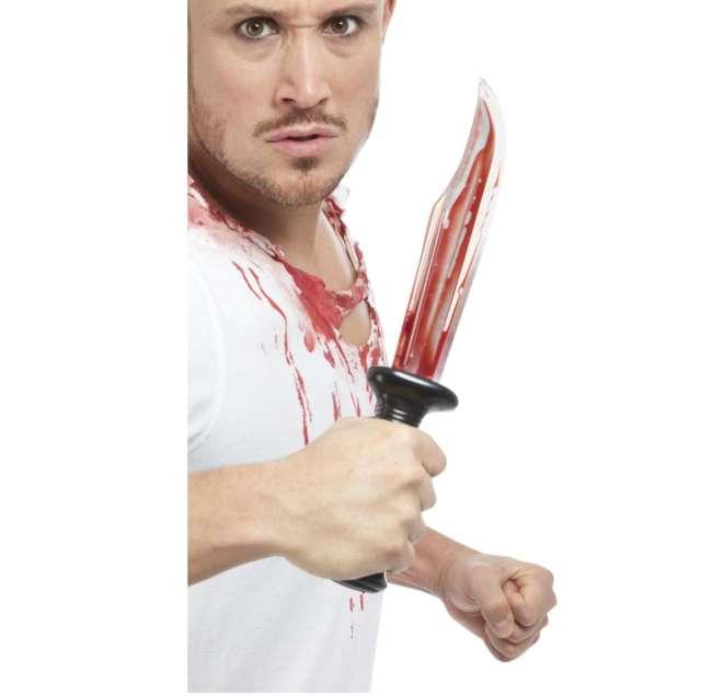 Broń Nóż krwawiący Smiffys 34 cm