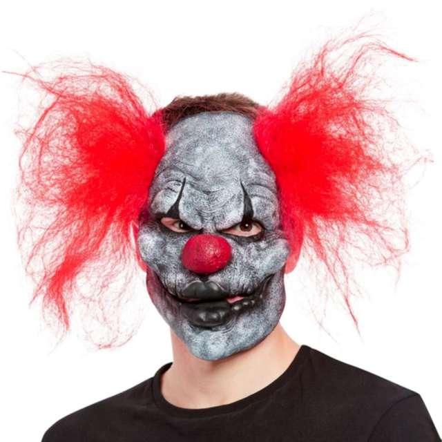 Maska Klaun Mroczny lateksowa Smiffys