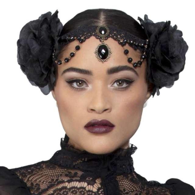 Biżuteria party Czarna Dama i Szlachetne Kamienie Smiffys