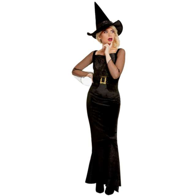 _xx_Glam Witch Costume with Dress Hat XS