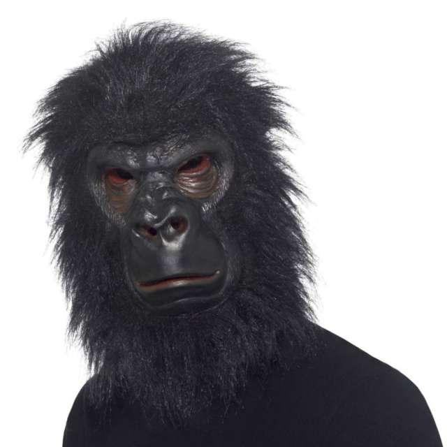 Maska Goryl z włosami lateksowa Smiffys