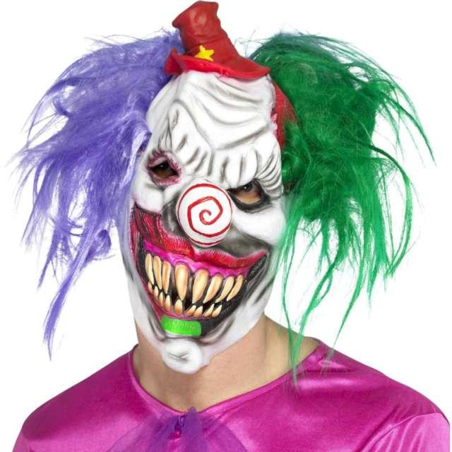 """Maska """"Klaun Joker"""", lateksowa, Smiffys"""
